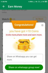 xender watch,earn money with xender